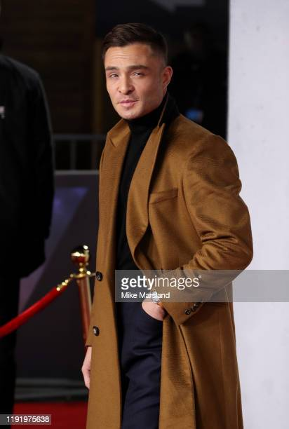 Ed Westwick attends the 1917 World Premiere and Royal Performance at Odeon Luxe Leicester Square on December 04 2019 in London England