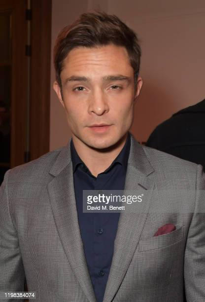 Ed Westwick attends the GQ Car Awards 2020 in assoociation with Michelin at the Corinthia Hotel London on February 3 2020 in London England