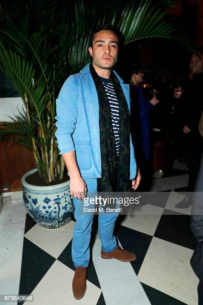 Ed Westwick attends the launch of The Ned London on April 26 2017 in London England