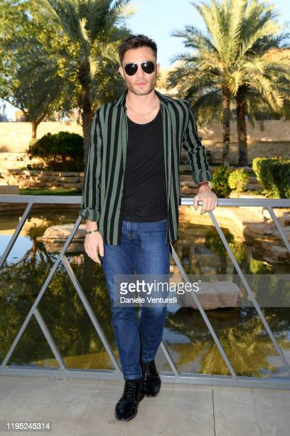 Ed Westwick attends the MDL Beast Festival Lunch at the historical city of Diriyah on December 21 2019 in Riyadh Saudi Arabia