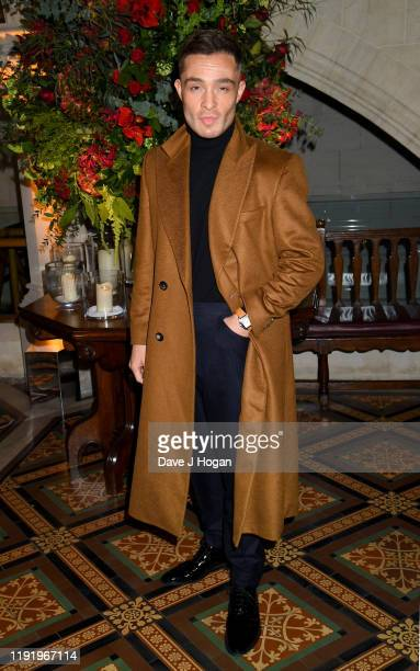 Ed Westwick attends the World Premiere and Royal Performance after party for 1917 at The Old Library Guildhall on December 04 2019 in London England