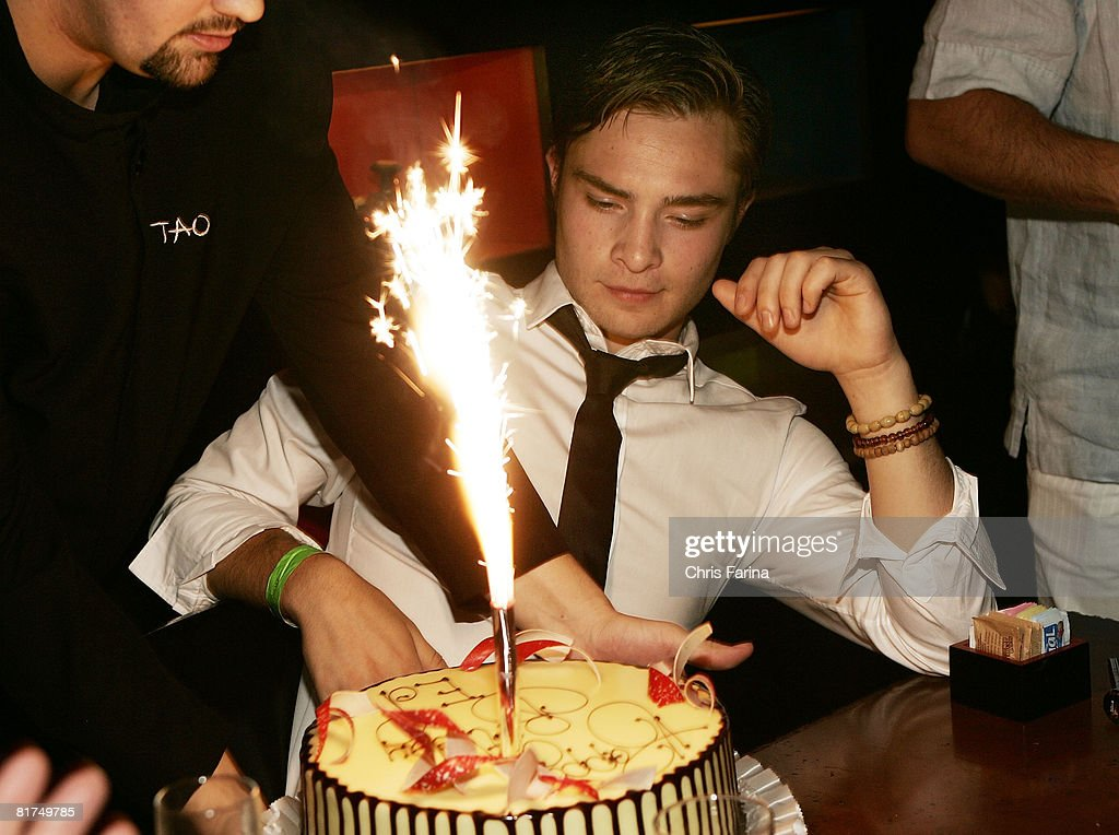 Ed Westwick of Gossip Girl celebrates 21st Birthday at TAO Photos