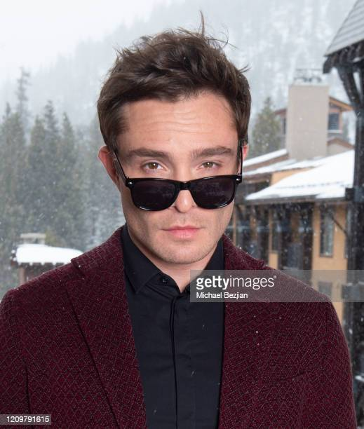 Ed Westwick poses for portrait at 3rd Annual Mammoth Film Festival Portrait Studio – Sunday on March 01, 2020 in Mammoth Lakes, California.