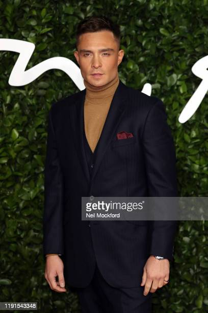 Ed Westwickarrives at The Fashion Awards 2019 held at Royal Albert Hall on December 02 2019 in London England