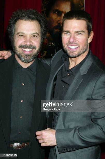 """Ed Zwick, director and Tom Cruise during """"The Last Samurai"""" New York Premiere - Inside Arrivals at The Ziegfeld Theater in New York City, New York,..."""
