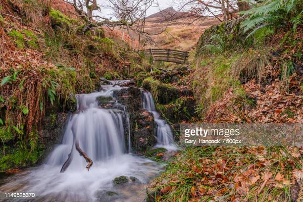 Edale Bridge Waterfall