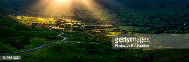 Edale valley in the spotlight