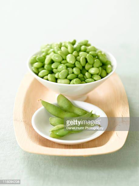 Edamame and soy beans