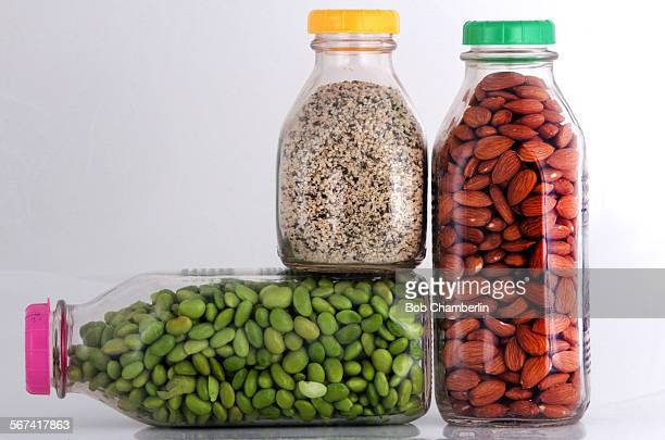 Edamame hemp seeds and raw almonds on MARCH 31 2014 Not milk Choosing milk for your morning cereal or coffee used to be pretty simple skim lowfat or...