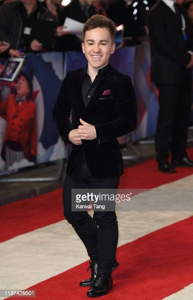 Edd Osmond attends the European premiere of 'Dumbo' at The Curzon Mayfair on March 21 2019 in London England