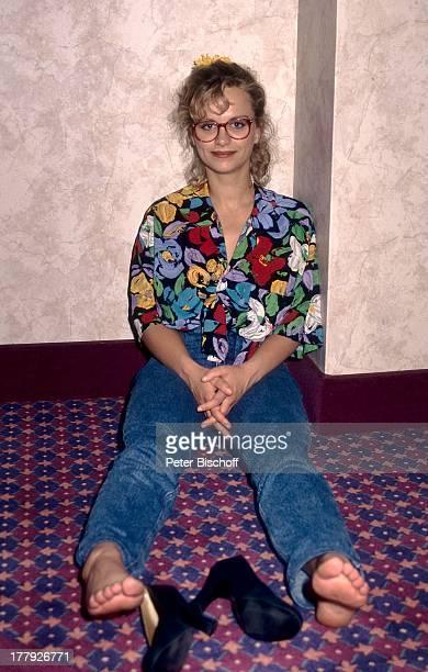 """Edda Leesch, Dreharbeiten zum ZDF-Dreiteiler """"Das;kalifornische Quartett"""", Las Vegas, Nevada, USA, Brille, Schauspielerin, lächeln, MD,"""
