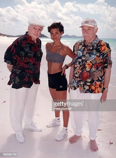 Eddi Arent Katja Woywood Ferdinand DuxZDFReihe Traumschiff Folge 37 Sydney OlympiaSpecial Australien Hamilton Island Strand Meer Schauspielerin...