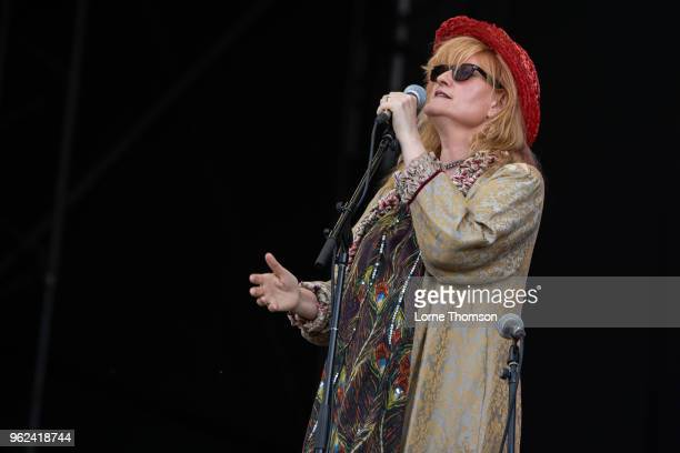 Eddi Reader performs at BBC Music The Biggest Weekend at Scone Palace on May 25 2018 in Perth Scotland