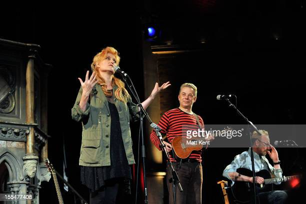 Eddi Reader performs at the Union Chapel on November 4 2012 in London England