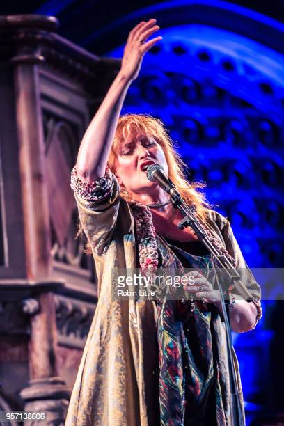Eddi Reader performs live on stage at the Union Chapel on May 10 2018 in London England
