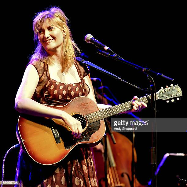 Eddi Reader performs on stage at the Queen Elizabeth Hall on May 26 2009 in London England