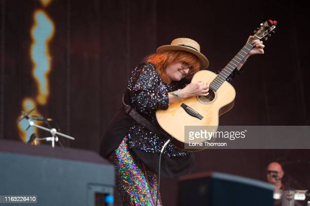 Eddi Reader performs onstage during Rewind Scotland 2019 at Scone Palace on July 20 2019 in Perth Scotland