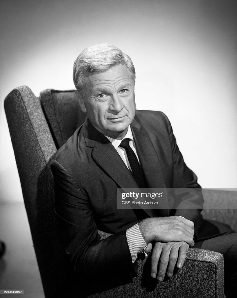 Eddie Albert, portrays the character Oliver Wendell Douglas, in the CBS television comedy program, 'Green Acres.' Image dated: May 25, 1965 Hollywood, CA.