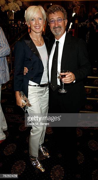 Eddie and Marie Jordan attend the La Dolce Vita Fundraising Ball at the Royal Albert Hall on July 6 2007 in London England