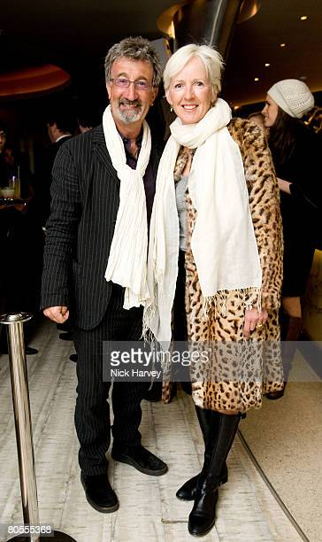 Eddie and Marie Jordan attends the launch of 'The End of Summer Ball' in support of the Prince's Trust on April 7 2008 at Nobu Berkeley in London...