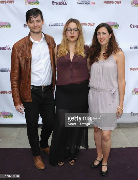 Eddie Anton Mac Montero and Nuria Perez arrives for the 2018 Etheria Film Night held at the Egyptian Theatre on June 16 2018 in Hollywood California