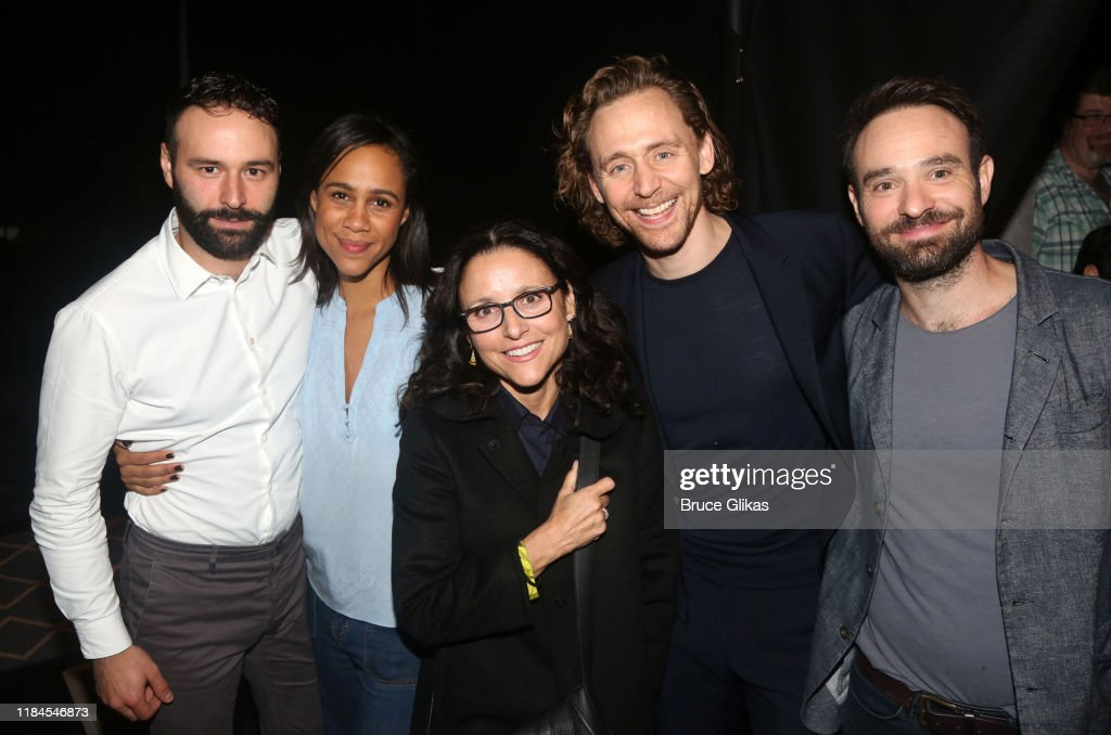 "The Broadway Cast Of ""Betrayal"" Celebrates Halloween : News Photo"