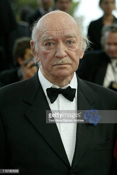 Eddie Barclay during 2003 Cannes Film Festival Closing Ceremony Arrivals at Palais des Festivals in Cannes France