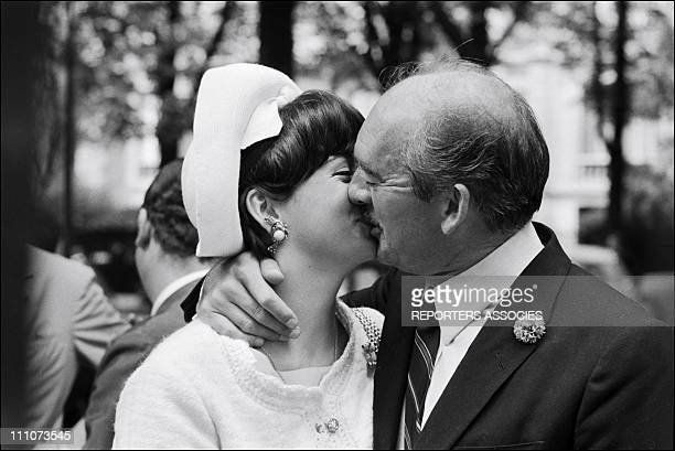 Eddie Barclay married Mc Steinberg in France on July 01 1965