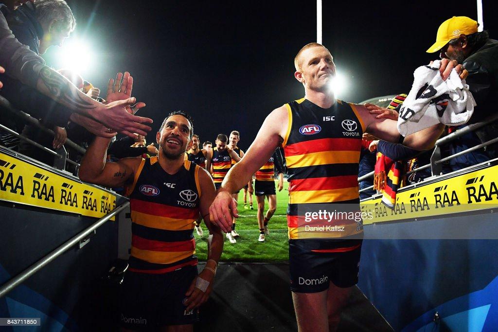 AFL First Qualifying Final - Adelaide v GWS : News Photo
