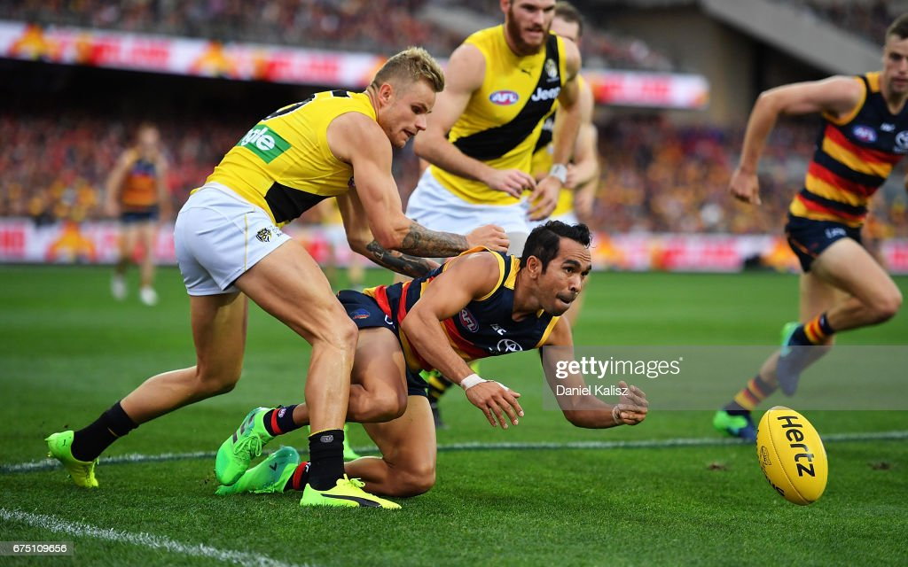 AFL Rd 6 - Adelaide v Richmond : News Photo