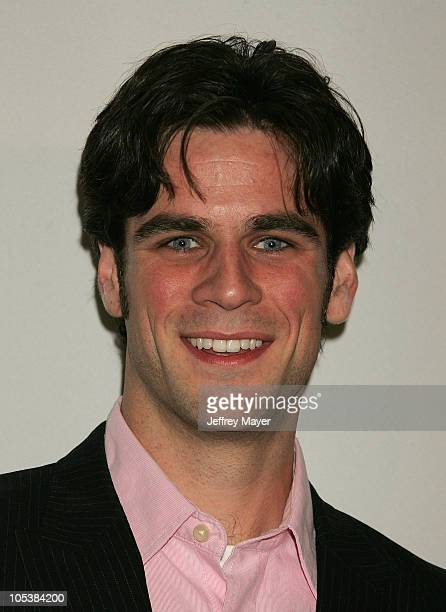 Eddie Cahill during CBS and UPN 2005 TCA Party Arrivals at Quixote Studios in Los Angeles California United States