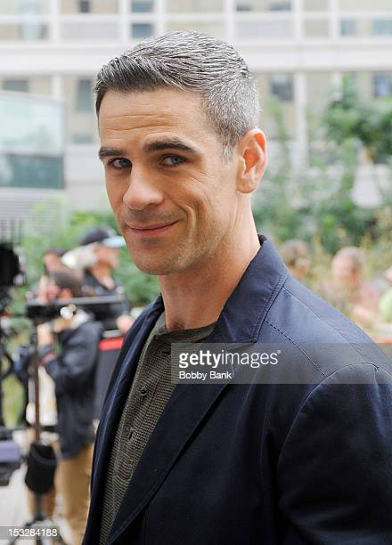 Eddie Cahill filming on location for 'CSI New York' on October 2 2012 in New York City