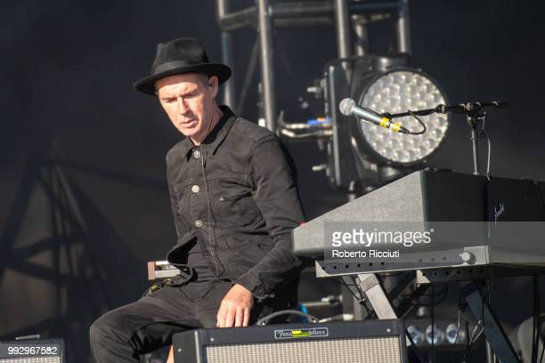 Eddie Campbell of Texas performs on stage during TRNSMT Festival Day 4 at Glasgow Green on July 6 2018 in Glasgow Scotland