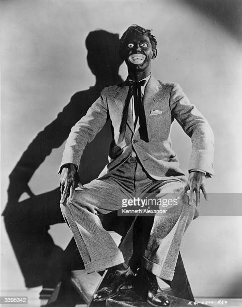 Eddie Cantor the stage name of Edward Israel Itskowitz in his BlackFace makeup for the Samuel Goldwyn film 'Whoopee' directed by Thornton Freeland