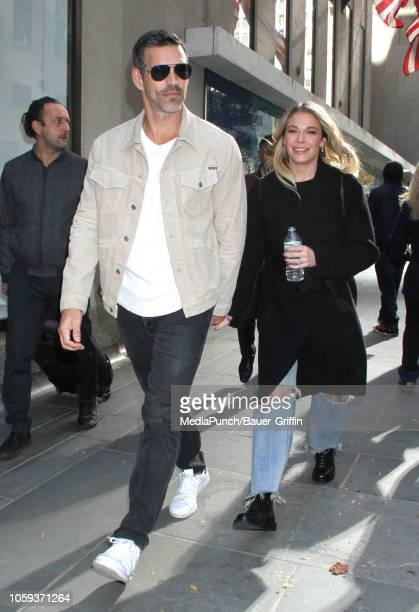 Eddie Cibrian and LeAnn Rimes are seen on November 08 2018 in New York City