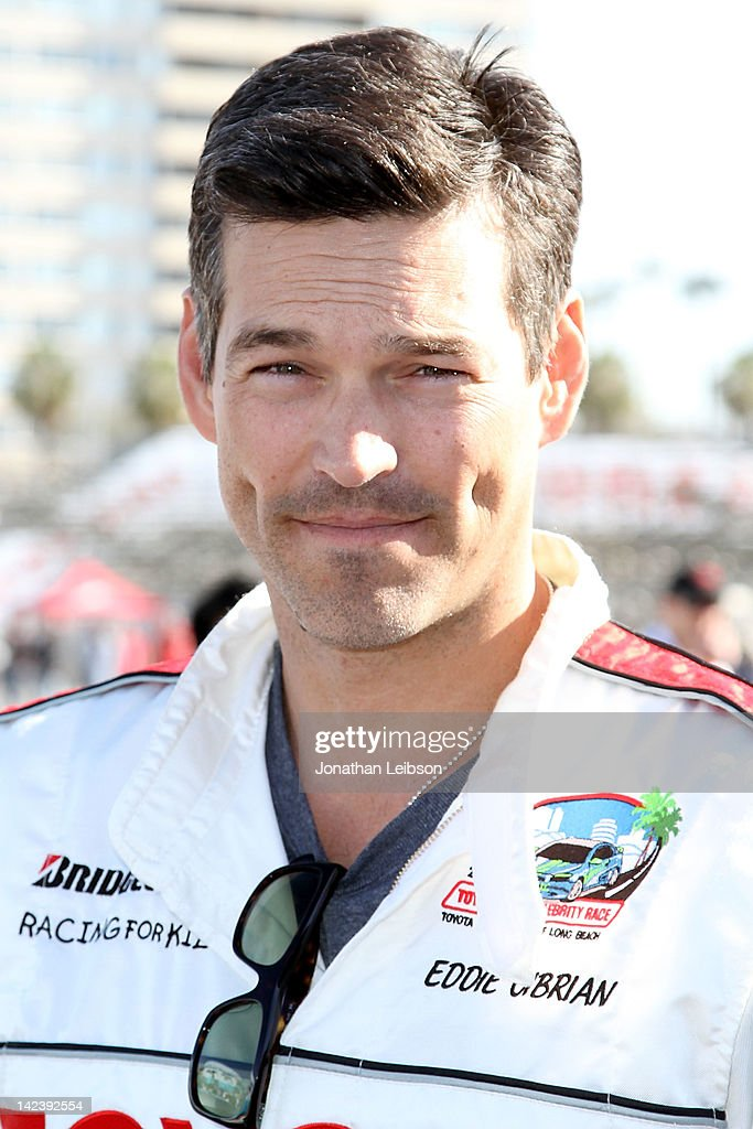 Eddie Cibrian at the 36th Annual 2012 Toyota Pro/Celebrity Race - Press Practice Day on April 3, 2012 in Long Beach, California.