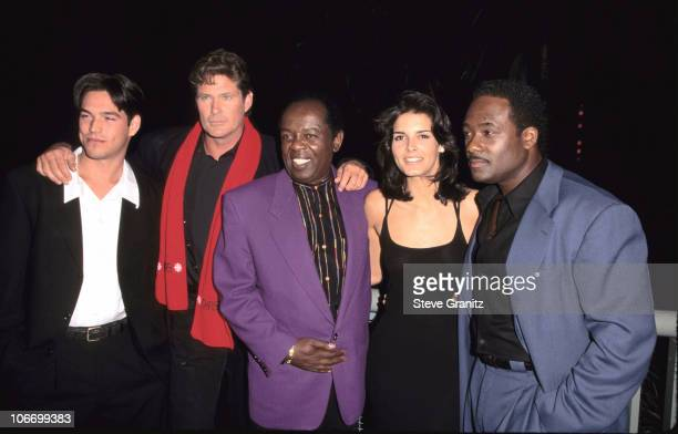 Eddie Cibrian, David Hasselhoff, Lou Rawls, Angie Harmon & Gregory Alan Williams