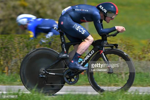 Eddie Dunbar of Ireland and Team INEOS Grenadiers during the 74th Tour De Romandie 2021, Prologue a 4,05km Individual Time Trial stage from Oron to...