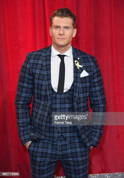 Eddie Eyre attends the British Soap Awards at The Lowry Theatre on June 3 2017 in Manchester England