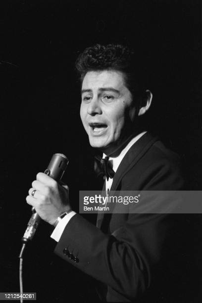 Eddie Fisher , American singer and actor, performing onstage, January 1960.