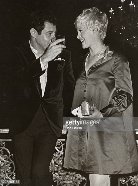 Eddie Fisher and Connie Stevens during Eddie Fisher and Connie Stevens sighitng at the Eddie Fisher Opening Party October 9 1967 at Empire Room...