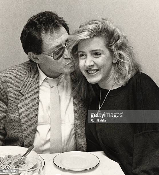 Eddie Fisher and Joely Fisher during Eddie Fisher and Joeley Fisher Sighting at Marcello Restaurant November 3 1987 at Marcello Restaurant in New...