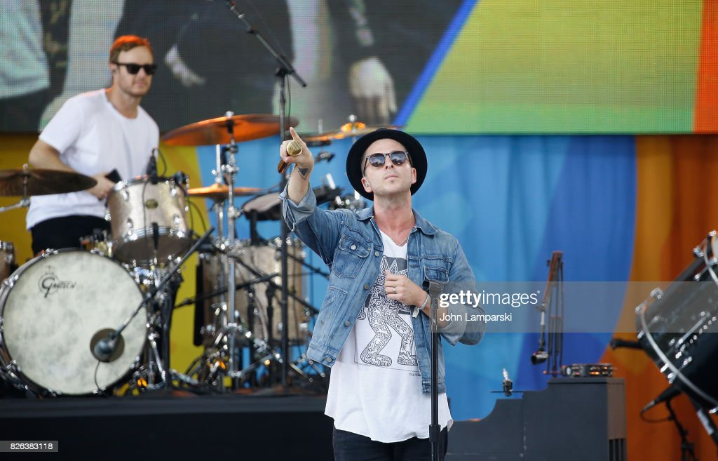 "OneRepublic Performs On ABC's ""Good Morning America"" : News Photo"