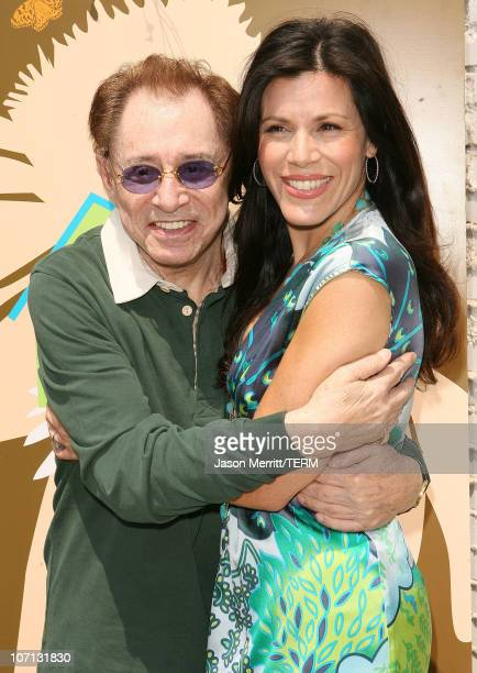 Eddie Fisher and Tricia Leigh Fisher with family during Grand Opening of The Tree House Social Club at Tree House Social Club in Los Angeles,...