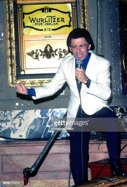 Eddie Fisher circa 1980 in New York City.