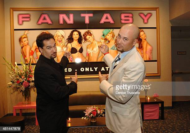Eddie Garcia and Cris Judd during FANTASY Re-Launch - Choreographed By Chris Judd and Eddie Garcia at Luxor Hotel and Casino Resort in Las Vegas,...