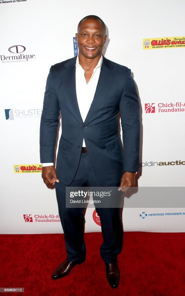 Eddie George at the 17th Annual Harold & Carole Pump Foundation Gala at The Beverly Hilton Hotel on August 11, 2017 in Beverly Hills, California.