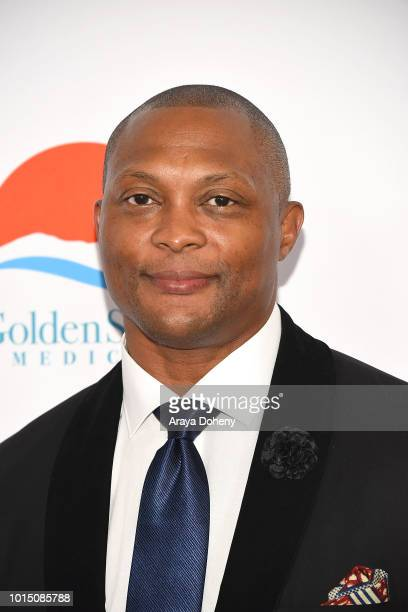 Eddie George attends the 18th Annual Harold and Carole Pump Foundation Gala at The Beverly Hilton Hotel on August 10 2018 in Beverly Hills California
