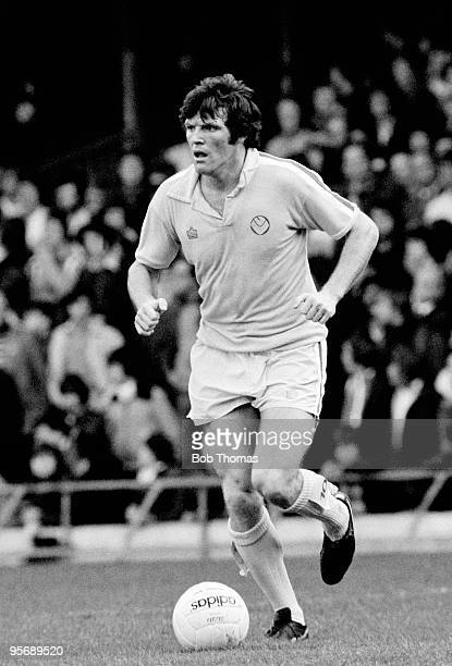 Eddie Gray in action for Leeds United during their First Division league match against Leicester City at Filbert Street in Leicester 29th October...