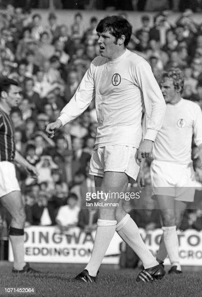 Eddie Gray of Leeds United playing against Crystal Palace in the Football League Div 1 at Selhurst Park on 18th October 1969